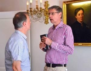 """Günter Jauch erhält """"Wein oder nicht sein"""" (c) Gisela Kirschstein"""