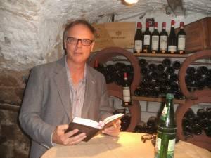 Uwe Kauss bei der Lesung in Wächtersbach