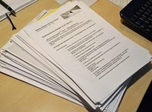 Die Manuskripteinsendungen für den Wettbewerb der Eckenroth-Stiftung