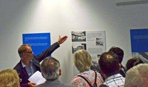 Rund 100 Gäste kamen zur Vernissage der Ausstellung.